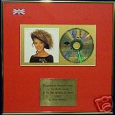 KYLIE MINOGUE  -  CD  Album  Award - ' KYLIE '